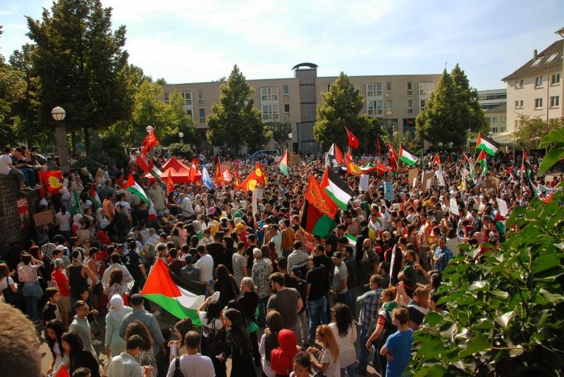 Essen, Deutschland - 18. Juli 2014.